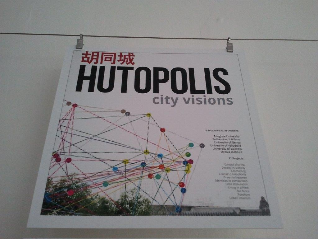 Hutopolis city visions, exhibition